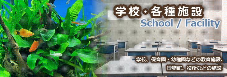 水槽設置事例 「学校・各種施設」編