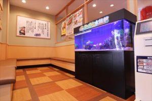 苫小牧市 回転寿司のチェーン店に設置