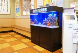 札幌市 大手回転寿司チェーン店に設置